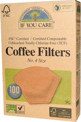 koffiefilters nr. 4 - 100 stuks