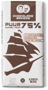 biologische-chocoladereep-puur-75%-met-cacaonibs-tres-hombres