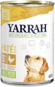 biologisch-hondenvoer-pate-kip