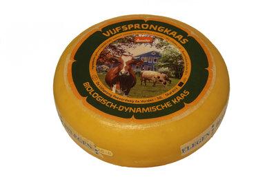 de vijfsprong kaas oud demeter - 500 gram (afwijking 50 gram)